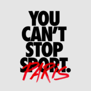 Nike You Can't stop sport